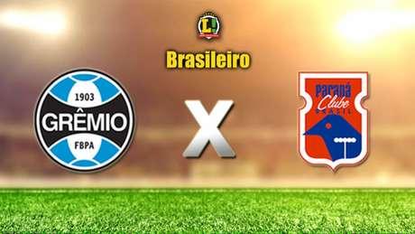 Apresentação BRASILEIRO: Grêmio x Paraná