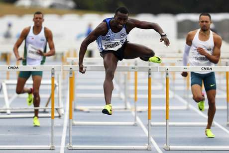 Gabriel Constantino venceu a prova dos 110m com barreiras no Troféu Brasil (Foto: Wagner Carmo/CBAt)