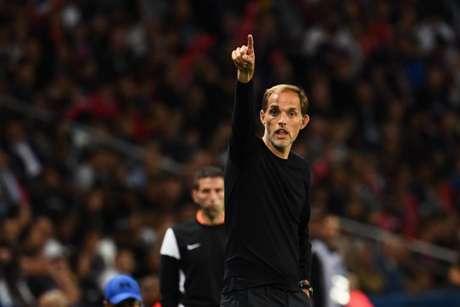 Tuchel ficou feliz com atuação do PSG (Foto: AFP)