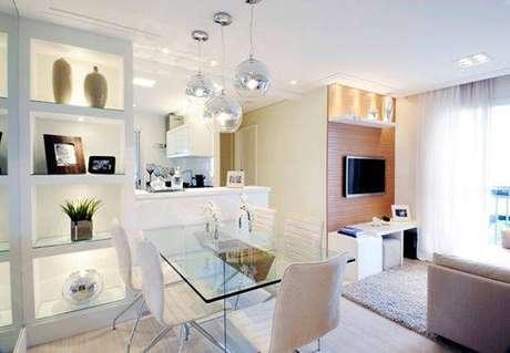 12- As divisórias de drywall otimizam o espaço de ambientes pequenos