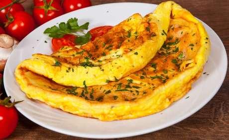 Omelete superfofinha