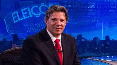 O candidato do PT fechou a série de entrevistas com os presidenciáveis melhor posicionados nas pesquisas