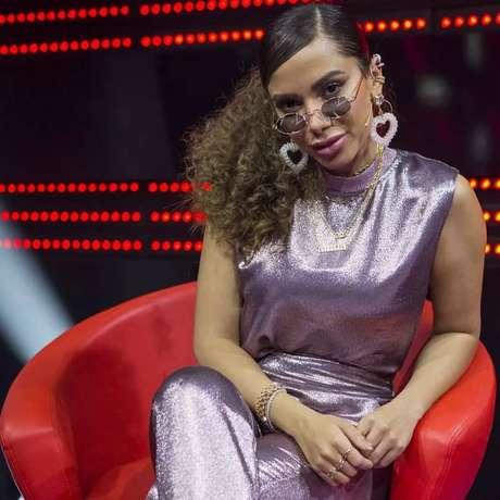 Anitta participou como convidada no The Voice Brasil