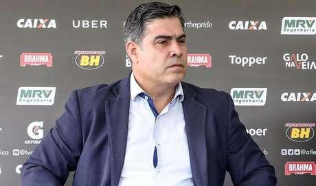 O mandatário do Galo se pronunciou pela primeira vez sobre o assunto nesta terça-feira-(Foto: Divulgação/Atlético-MG)