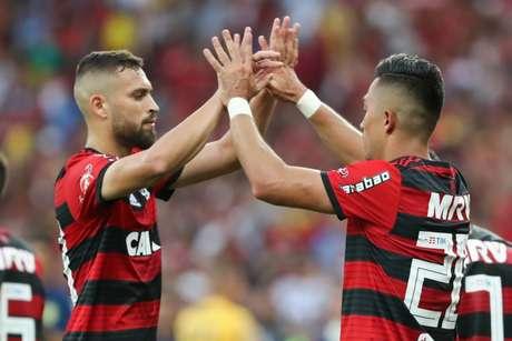 Léo Duarte won the Flamengo title during the current season (Photo: Gilvan de Souza / Flamengo)