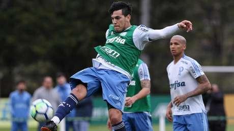 Em pouco tempo, Gustavo Gómez parece estar achando seu espaço no elenco (Foto: Cesar Greco/Palmeiras)