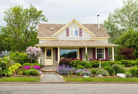 Casa florida de Baddeck, Nova Escócia