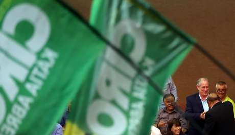 Candidato à Presidência pelo PDT, Ciro Gomes, faz campanha em São Paulo 19/09/2018 REUTERS/Paulo Whitaker