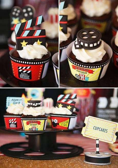 15. A criatividade nos doces e guloseimas faz a decoração de festa ficar mais interessante.