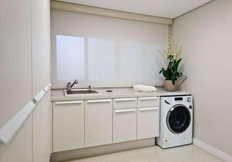 46. Decoração para lavandeira planejada – Foto Archdesign Studio