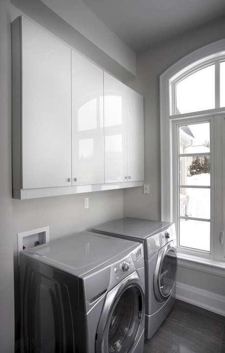 69. Modelo de armário para área de serviço pequena – Foto: Istock
