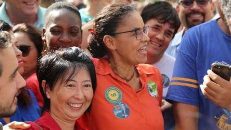 Marina Silva estava na segunda colocação; em um mês, despencou para a quinta.