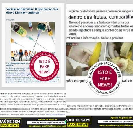 Checagem.Publicações ganham selos segundo a veracidade. 'É uma questão de saúde pública', diz coordenadora