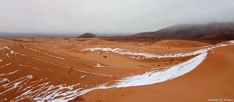 Deserto do Saara se estende por aproximadamente 4.800 quilômetros