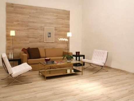 7- O piso laminado não faz sujeira no momento de sua instalação. Fonte: Zap em Casa