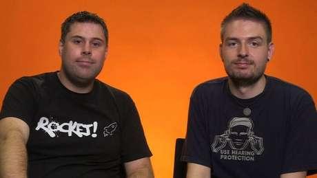 Thom e Steve estão juntos há quatro anos e se casaram no ano passado, mas nunca fizeram sexo