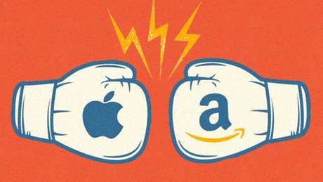 Apple x Amazon: qual das duas gigantes tem melhor perspectiva de crescimento?