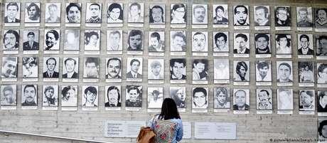 Centenas de pessoas ainda estão listadas como prisioneiras desaparecidas durante a ditadura de Pinochet