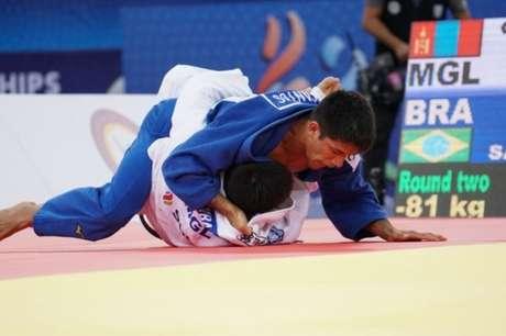 Brasileiros não disputaram medalhas neste domingo (Foto: Divulgação/CBJ)