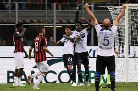 Rigoni marcou o gol de empate nos minutos finais (Foto: MARCO BERTORELLO / AFP)