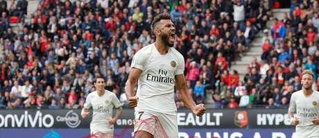 Choupo-Moting comemora último gol do PSG