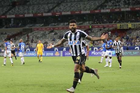 Gabriel foi o autor do gol do Santos