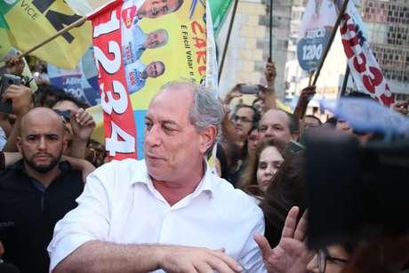 Visita do candidato a presidencia Ciro Gomes em Salvador