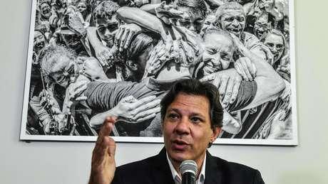Haddad deve se dedicar nas próximas semanas a conquistar a transferência de votos do ex-presidente Lula