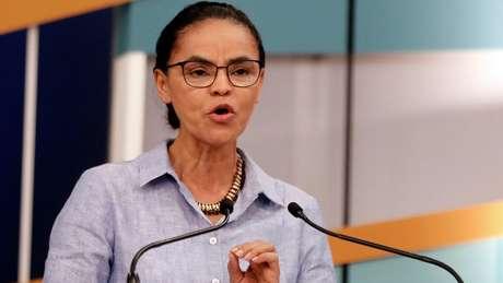 Marina tem se dedicado a criticar os partidos tradicionais, batendo na tecla da renovação da política