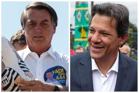 Bolsonaro estagnou no Ibope, enquanto Haddad subiu