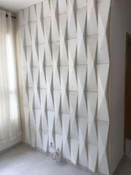 43. Gesso 3D em parede pequena. Foto de OLX