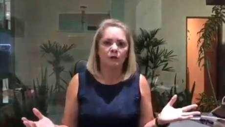 Em vídeo divulgado nas redes sociais entre simpatizantes do presidenciável, Ana Cristina negou ter sofrido ameaça.