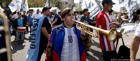 A greve de 24 horas foi precedida por mobilizações promovidas pela Central de Trabalhadores da Argentina