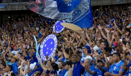 China Azul promete empurrar o time rumo à final da Copa do Brasil- (Foto: Washington Alves/Light Press/Cruzeiro)