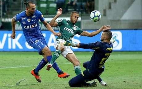 Último encontro: Palmeiras 0 x 1 Cruzeiro - 12/9/2018 - Semifinal da Copa do Brasil