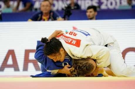 Mayra Aguiar é top 5 do ranking mundial de judô (Rodolfo Vilela)