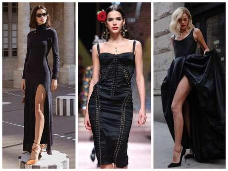 3 looks pretos da Bruna Marquezine (Fotos: @brumarquezine/Instagram/Reprodução)