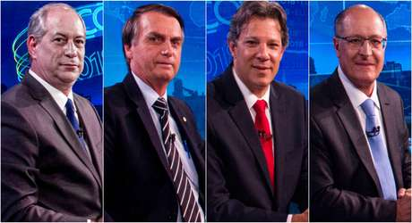 Ciro, Bolsonaro, Haddad e Alckmin: desta vez, a maioria dos eleitores decide o voto independentemente do que vê na TV