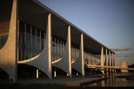 O Palácio do Planalto, sede do governo, em Brasília