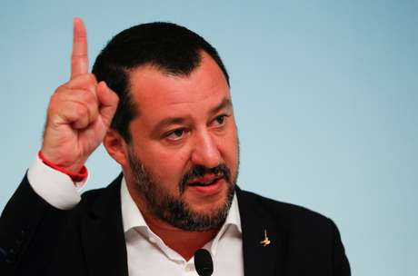 O ministro do Interior italiano, Matteo Salvini