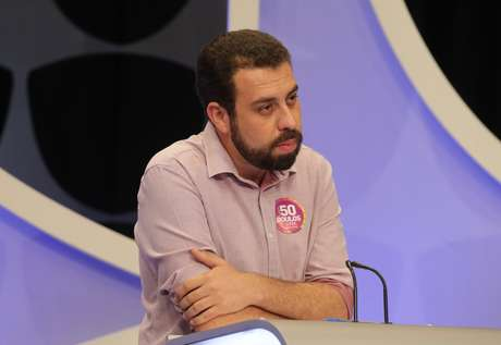 O líder do MTST, Guilherme Boulos, que também foi candidato a presidente pelo Psol