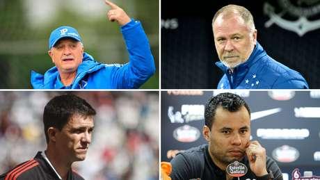 Os quatro times que chegaram até a semi-final estavam no grupo dos que disputaram a Libertadores: Cruzeiro, de Mano Menezes, Corinthians, de Jair Ventura, Palmeiras, de Felipão, e o Flamengo de Maurício Barbieri
