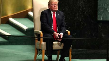 Donald Trump anunciou na ONU novas sanções contra o governo do presidente venezuelano Nicolás Maduro