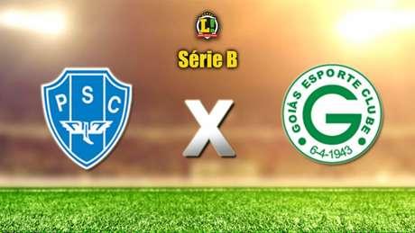 Paysandu x Goiás - Série B