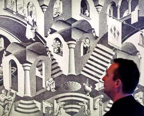 A fita de Möbius inspirou ao artista M.C. Escher