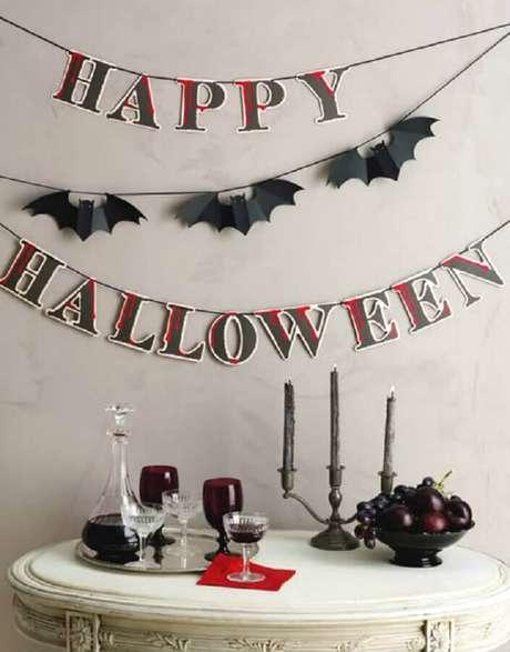 36. Ideia simples de decoração para Halloween – Foto: Nashpilkah