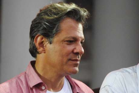 O candidato à Presidência da República, Fernando Haddad (PT)