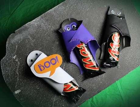 57. Modelo de lembrancinhas de Halloween – Foto: Pinterest