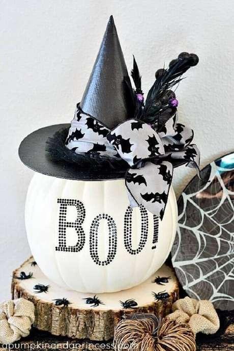 5. Os enfeites de Halloween são os grandes destaque da festa – Foto: Pinterest
