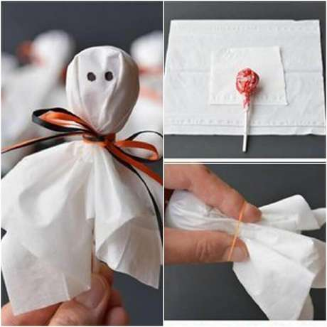 14. Modelo simples de lembrancinha de Halloween – Foto: Armala Party